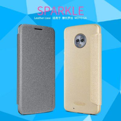 4e2e73576 Motorola Moto G6 Funda Smart Sparkle Nillkin