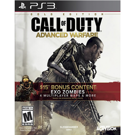 call of duty aw gold edition