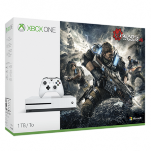CONSOLA XBOX ONE S 1 TB + GEARS OF WAR 4