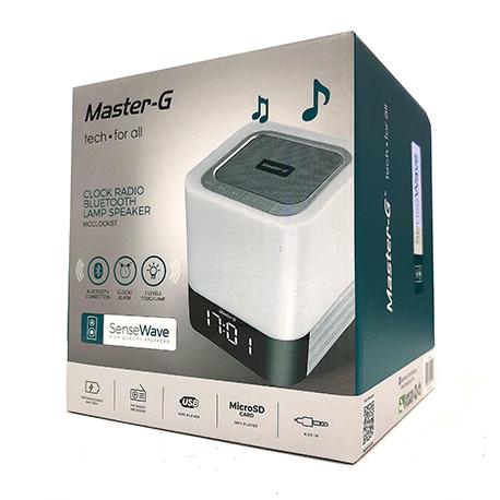 Bluetooth Radio Touch Parlante Reloj Lampara G Master ZwXN8nO0kP