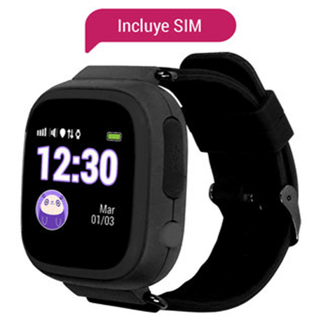 lo último a9adc c1c24 Reloj Momo Gps Celular Para Niños + Sim