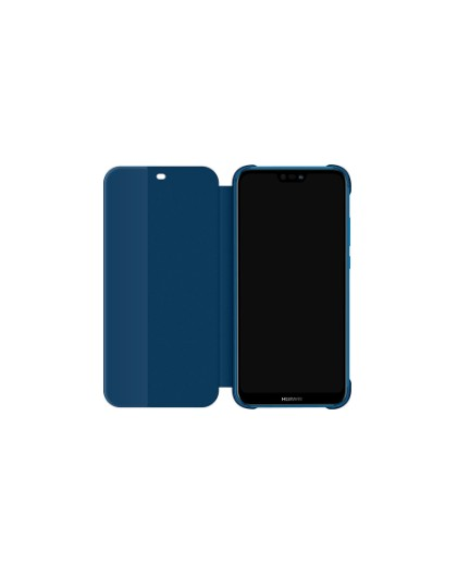 official-huawei-p20-lite-flip-cover-blue