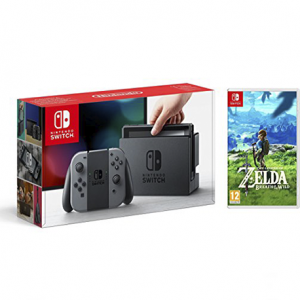CONSOLA NINTENDO SWITCH + ZELDA BREATH OF THE WILD