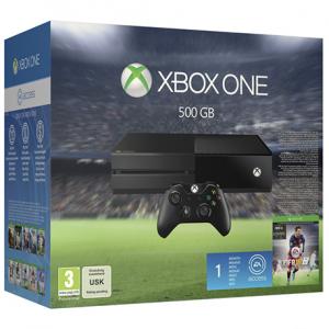 CONSOLA XBOX ONE 500 GB + FIFA 16 (DIGITAL)