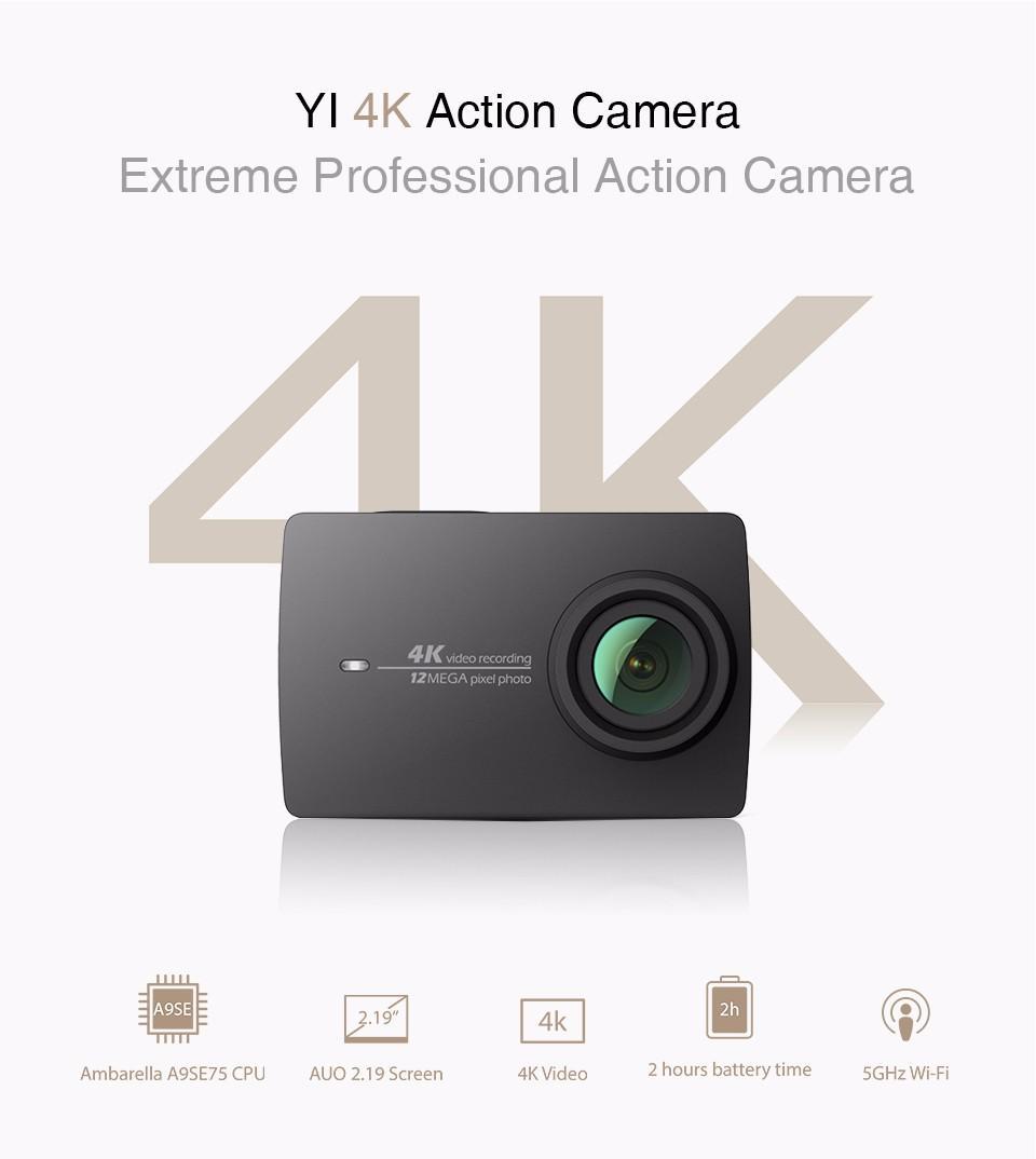 Xiaomi Yi 4k C 225 Mara De Acci 243 N 2 Versi 243 N Prophone
