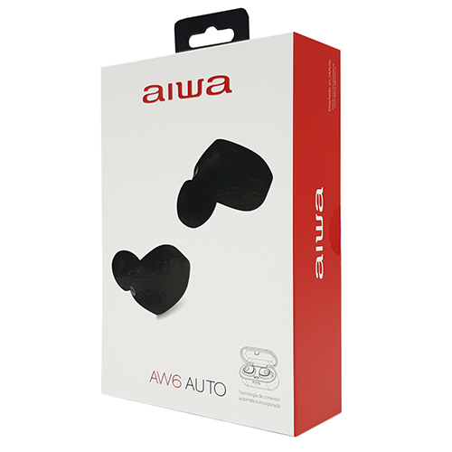 Audifonos Inal 225 Mbrico Bluetooth Aiwa Aw6 Tipo Airpods