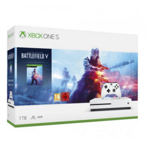CONSOLA XBOX ONE S 1 TB + BATTLEFIELD V DELUXE EDITION