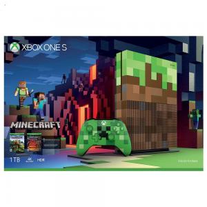 CONSOLA XBOX ONE S 1 TB EDICION MINECRAFT + JUEGO + XBOX LIVE