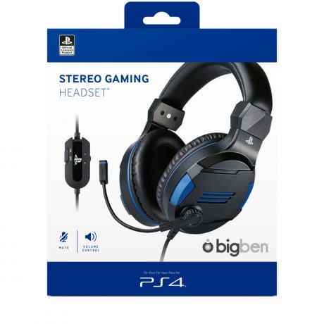 SONY OFFICIAL LARGE GAMING HEADSET PS4